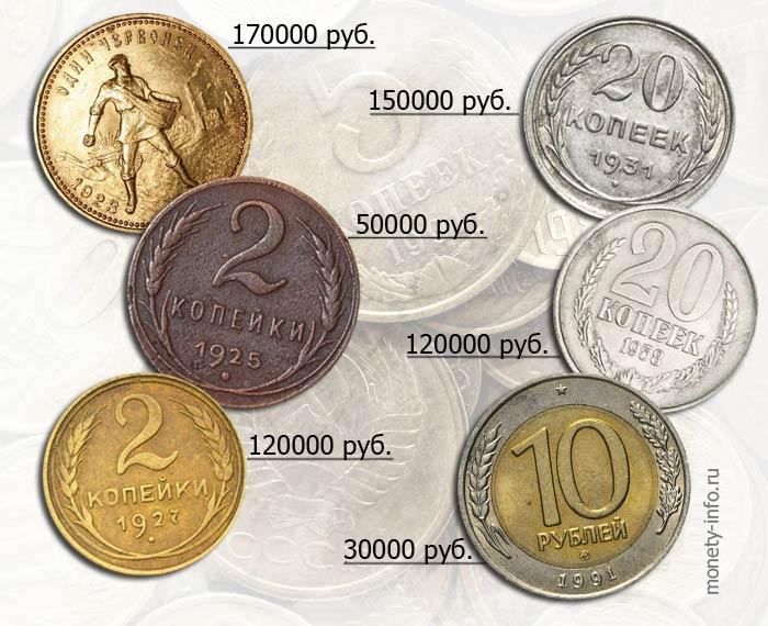 2d4619c311ec Самые дорогие монеты СССР  цена редких советских рублей и копеек